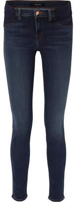 J Brand Mama J Mid-rise Skinny Maternity Jeans - Dark denim