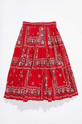 Vintage Loves Vintage 1970s Bandana Patchwork Skirt