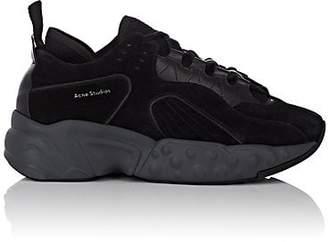 Acne Studios Men's Rockaway Suede Sneakers - Black
