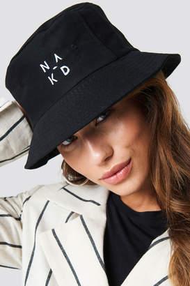 NA-KD Na Kd Accessories Logo Bucket Hat Black
