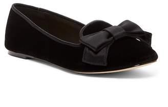 Kate Spade Astair Velvet Loafer Flat