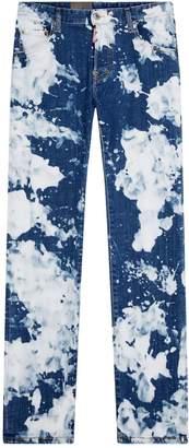 DSQUARED2 Acid Wash Skater Jeans