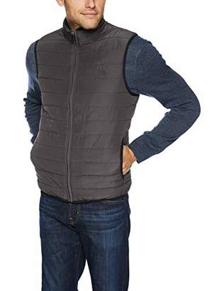 Chaps Men's Classic Fit Quilted Packable Vest