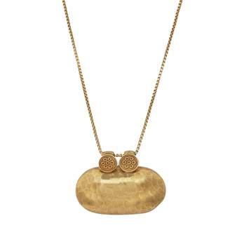 Carousel Jewels - Antique Textured Trinket Pendant