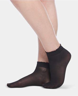 Berkshire 3-Pk. Scalloped Shorty Anklet Socks