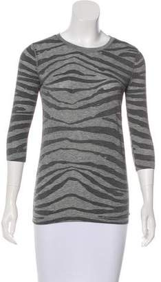 Armani Exchange Jersey Long Sleeve Top