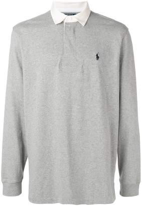 Polo Ralph Lauren contrast collar polo shirt