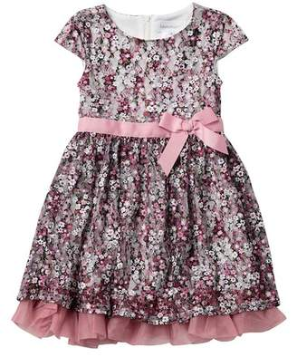 Blush by Us Angels Floral Lace Dress (Toddler & Little Girls)