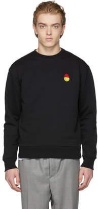 Ami Alexandre Mattiussi Black Smiley Edition Sweatshirt