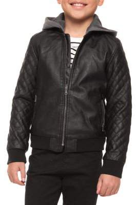 Dex Boy's Zip-Up Hooded Jacket