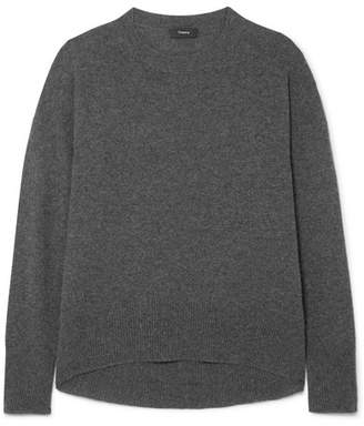 Theory Karenia Cashmere Sweater - Charcoal