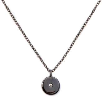 Louise Varberg Jewellery - Diamond Stella Necklace Black Rhodium