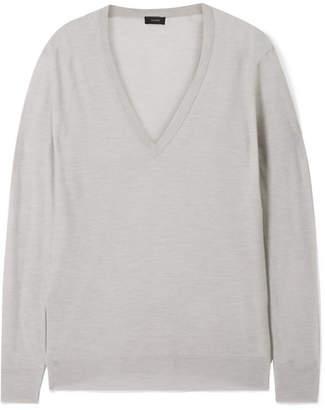 Joseph Cashmere Sweater - Light gray