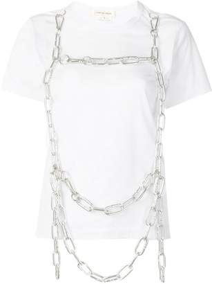 Comme des Garcons chain embellished T-shirt