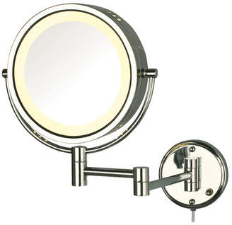 Co Darby Home Solley Dual Sided Wall Mount Halo Lighted Mirror