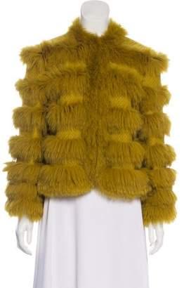 St. John Wool Fur Jacket