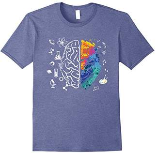 Colorful Brain Science And Art T-Shirt