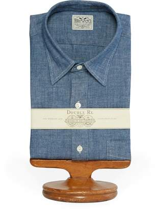 Ralph Lauren Slim Fit Chambray Dress Shirt