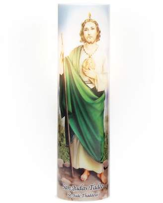 Inspirational Candles & Accessories LED Prayer Candle, St. Jude