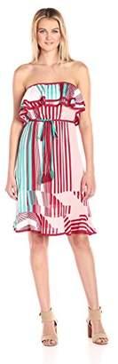 Plenty by Tracy Reese Women's Strapless Midi Dress