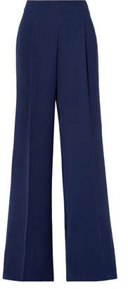 MICHAEL Michael Kors Cady Wide-leg Pants - Navy