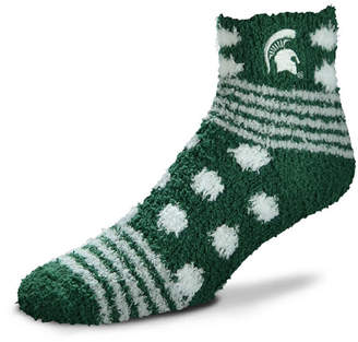For Bare Feet Michigan State Spartans Homegater Sleep Soft Socks