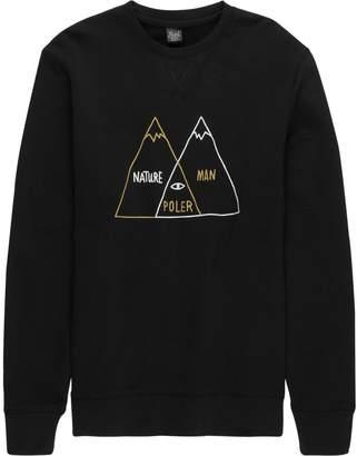 Poler Venn Diagram Crew Sweatshirt - Men's