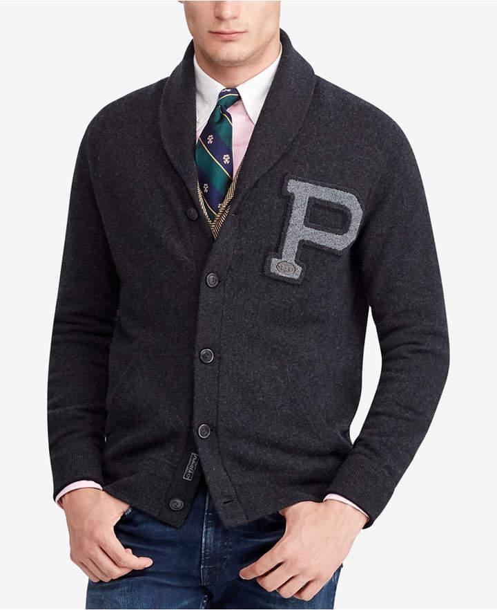 Polo Ralph Lauren Men's Big & Tall Shawl Cardigan