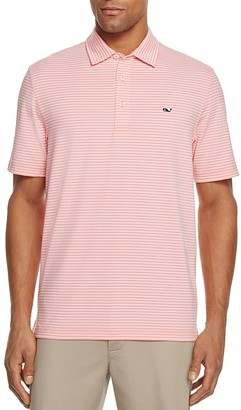 Vineyard Vines Performance Kennedy Stripe Classic Fit Polo Shirt $85 thestylecure.com