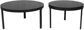 Moe's Home Collection Moe's Home Set Of 2 Cristiano Cocktail Tables