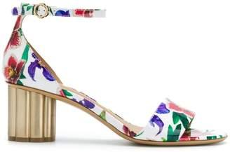 Salvatore Ferragamo 'Eraclea' floral print sandals