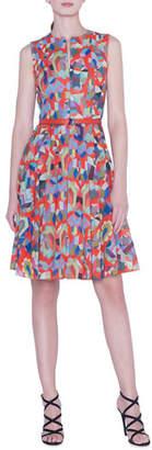 Akris Indian Summer Voile Dress