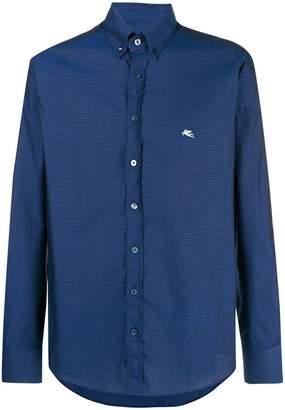 Etro classic collared shirt