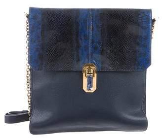 Oscar de la Renta Leather Shoulder Bag