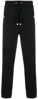Just Cavalli eyelets track pants