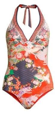 Camilla Halterneck One-Piece Swimsuit