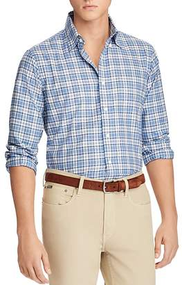 Polo Ralph Lauren Plaid Classic Fit Button-Down Shirt