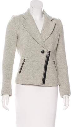 IRO Wool Zip-Front Blazer