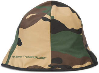 Off-White camouflage bucket hat