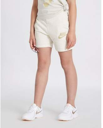Nike Girls' Fleece Shorts Junior