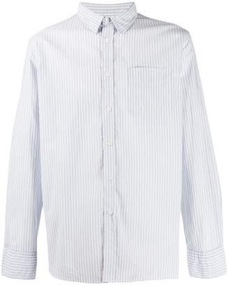 Universal Works striped long sleeve shirt