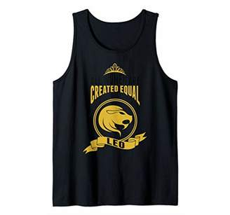 All Women Are Created Equal The Best Are Born A Leo Tank Top