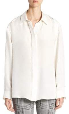 Alexander Wang Silk Button-Down Shirt