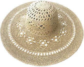 Bondi Beach Bag Co Crochet Weave Floppy Hat