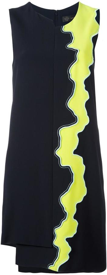 Versace asymmetric 'Runway' dress