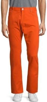 Façonnable Solid Five-Pocket Pants