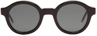 Thom Browne Black TB-411 Sunglasses
