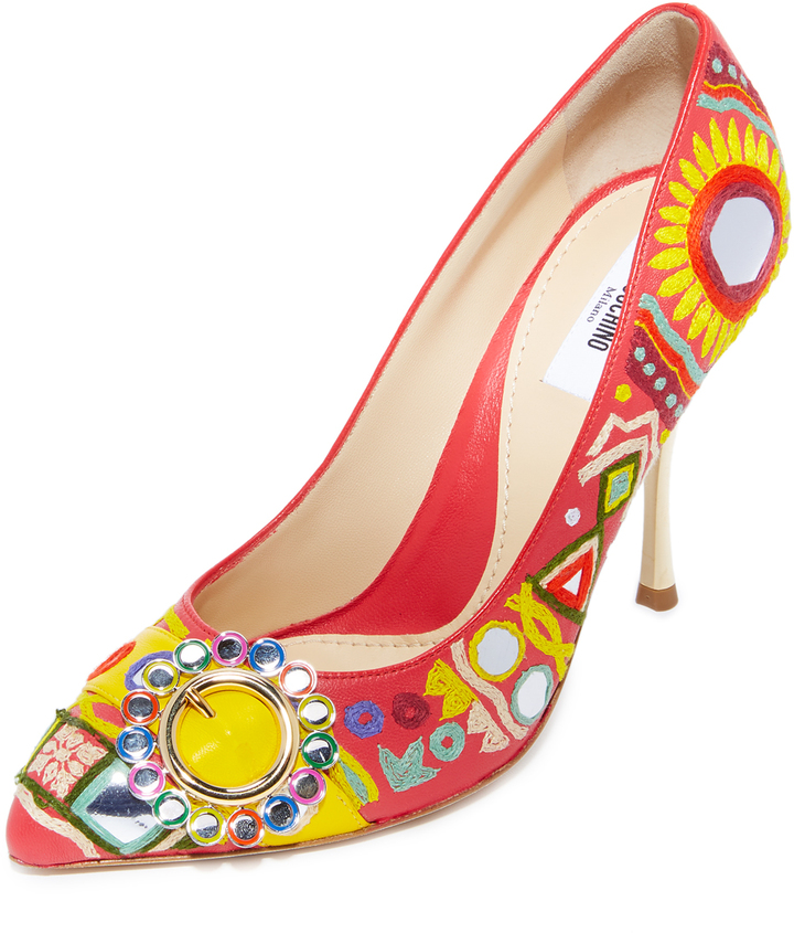 Moschino Moschino Point Toe Pumps