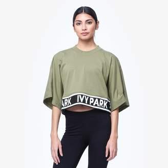 Ivy Park Logo Boxy Crop Crew T-Shirt - Women's