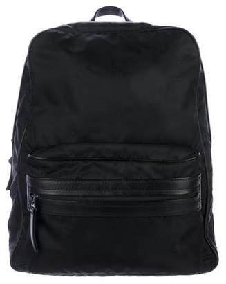 Maison Margiela 2017 Leather-Trimmed Backpack